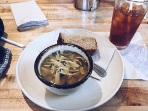 atwater's cafe soup and bread