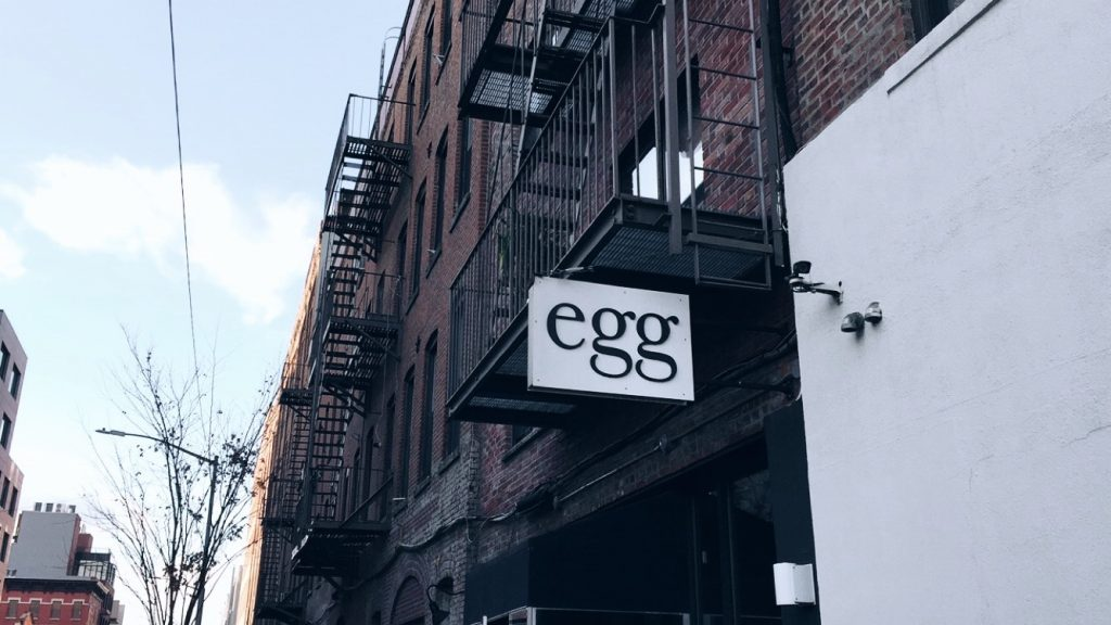 egg store front